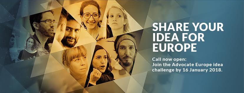 Share your idea for Europe! Up to 50K for democracy projects