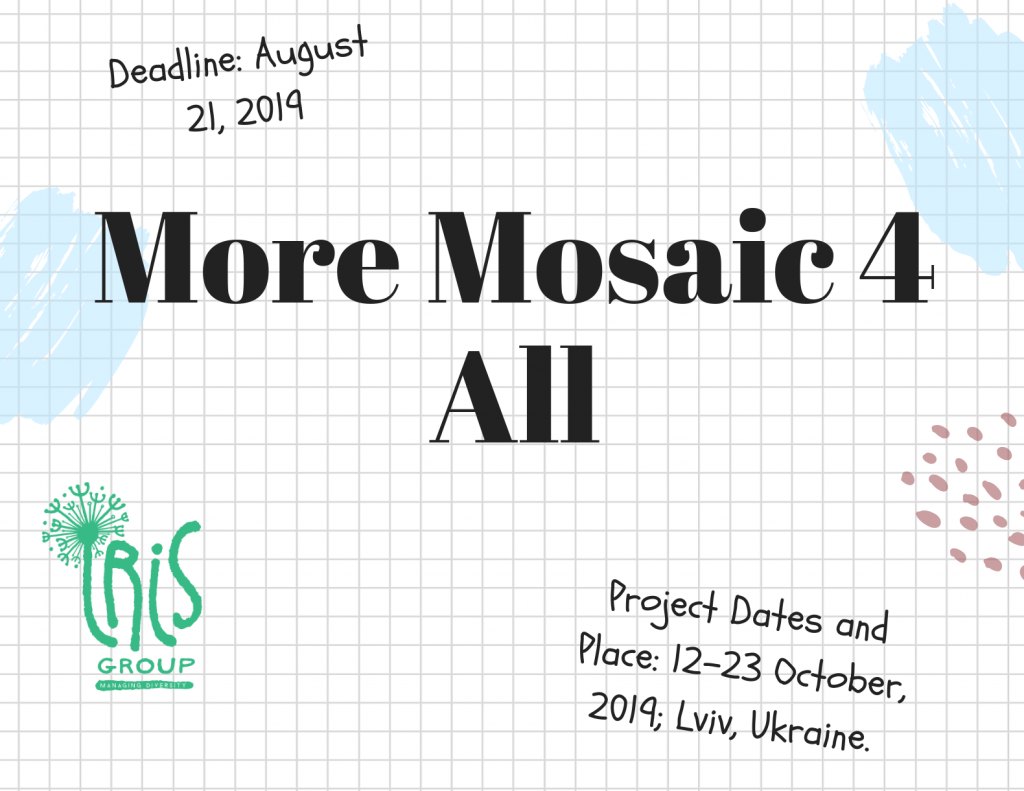 Call for Participants - More Mosaic 4 All